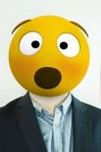 Fotografie surprised emoji man portrait