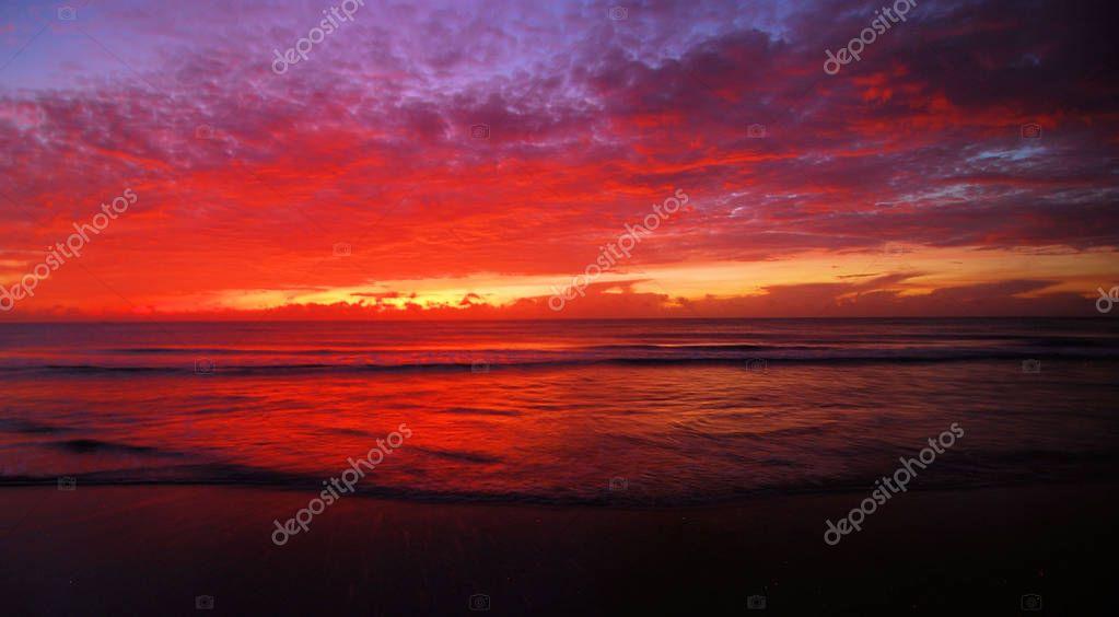 Purple Sunrise at Boca