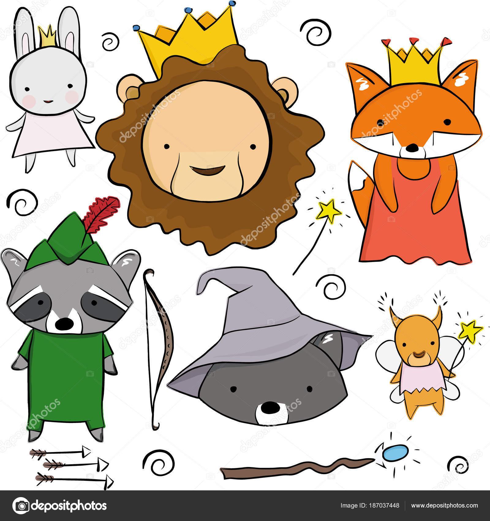 Dibujos Coloridos De Animales Animales Coloridos Dibujos Animados