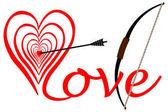 Stávka v lásce, ve středu srdce, klanět se šipkou