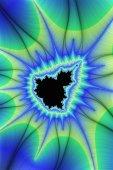 Fotografia Visualizzazione digitale della priorità bassa di frattalo