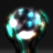 Fotografie 3D Illustration of a Crystal Ball