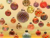 Digitální vizualizace Vánoční dekorace