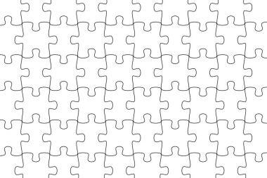 white puzzle background jigsaw puzzle