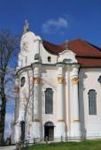 Fotografie Berühmte Kirche In Bayern Wieskirche