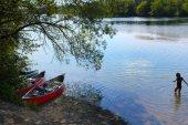 Fotografie Summer In The City Of Landsberg, Bavaria