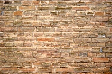 old and rugged brick wall texture