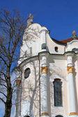 Fotografie Foto von alten berühmten Kirche In Bayern Wieskirche