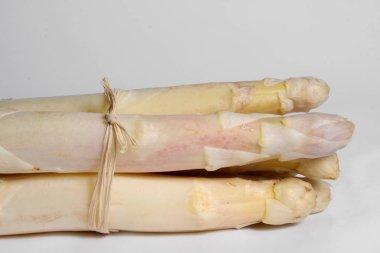 Tasty asparagus in healthy food
