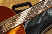 Fotografie Kytara s případ zblízka střílel