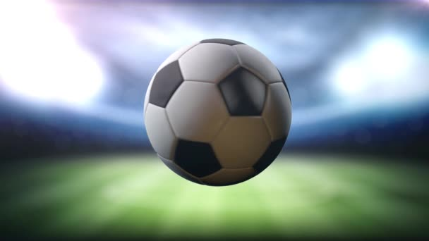 soccer Ball Spinning loopable soccer broadcast animationis perfect for your sport show highlights, commercials, video blogs, Youtube channels etc.
