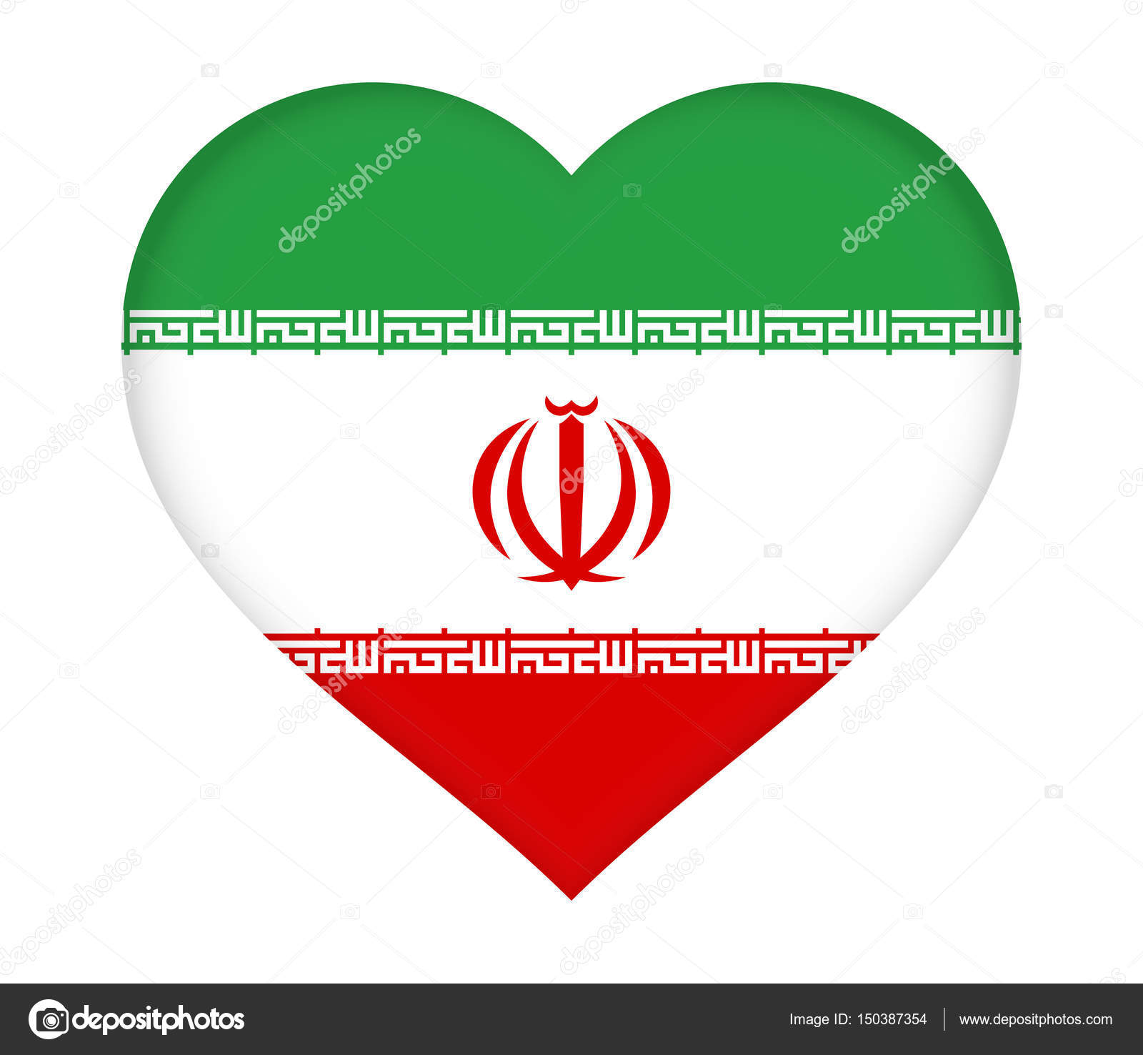 Flag of iran heart stock photo diverroy 150387354 flag of iran heart stock photo buycottarizona Choice Image