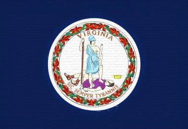 Flag of Virginia  Wall