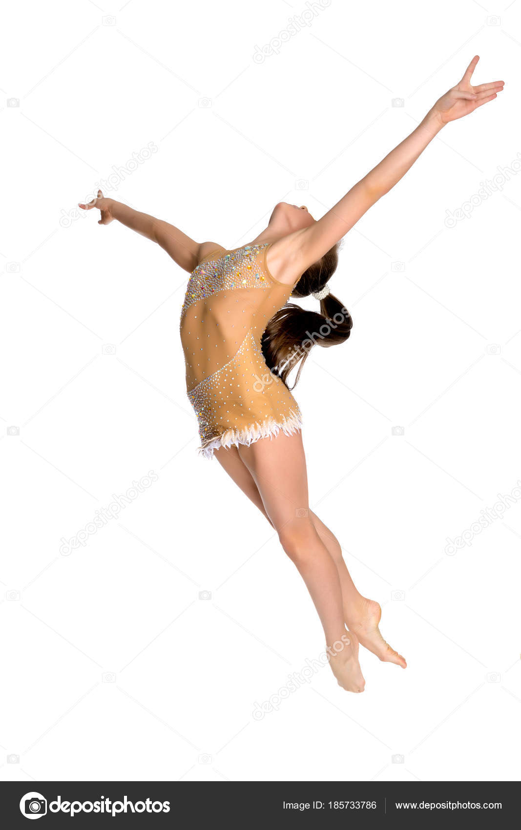 Голые гимнастки и балерины утреннего