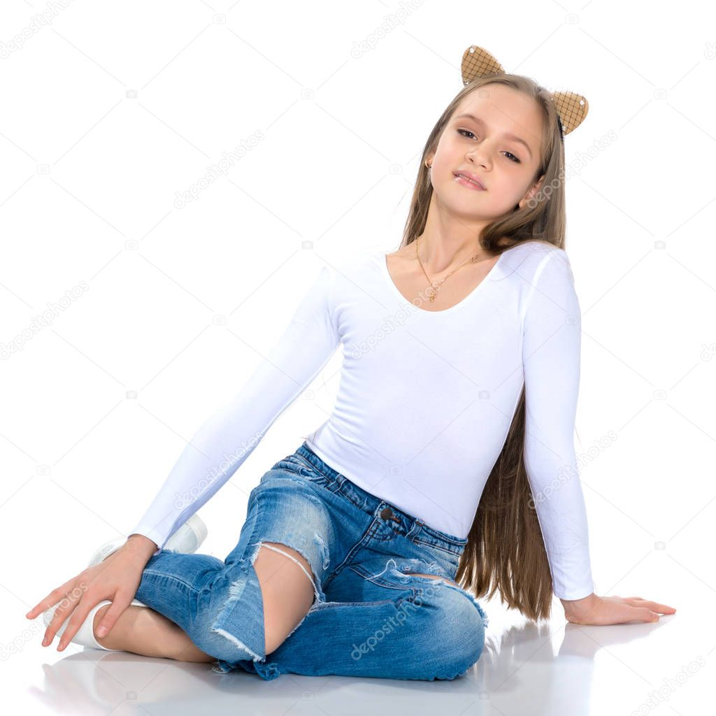 teen jeans in Hot girls