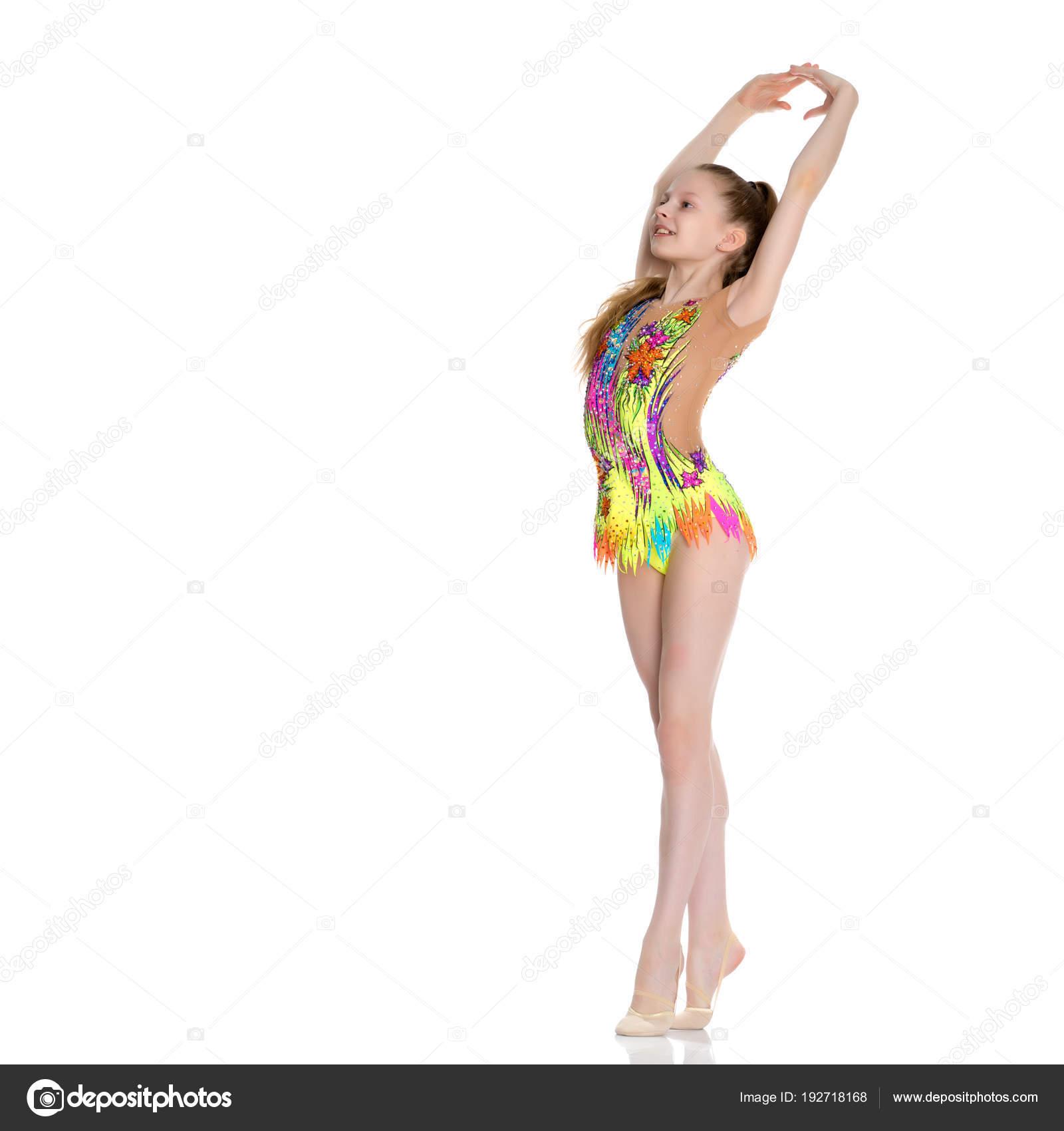 Девушка художественная гимнастка секси