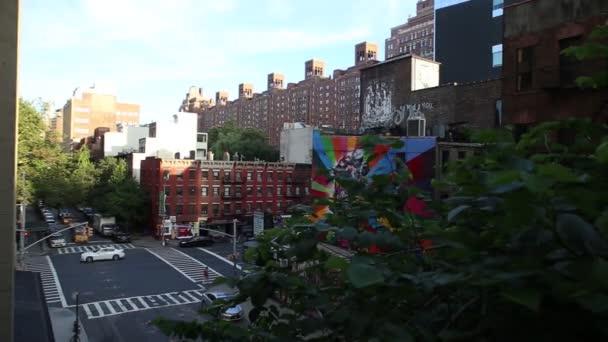High Line Park street View, Manhattan New York
