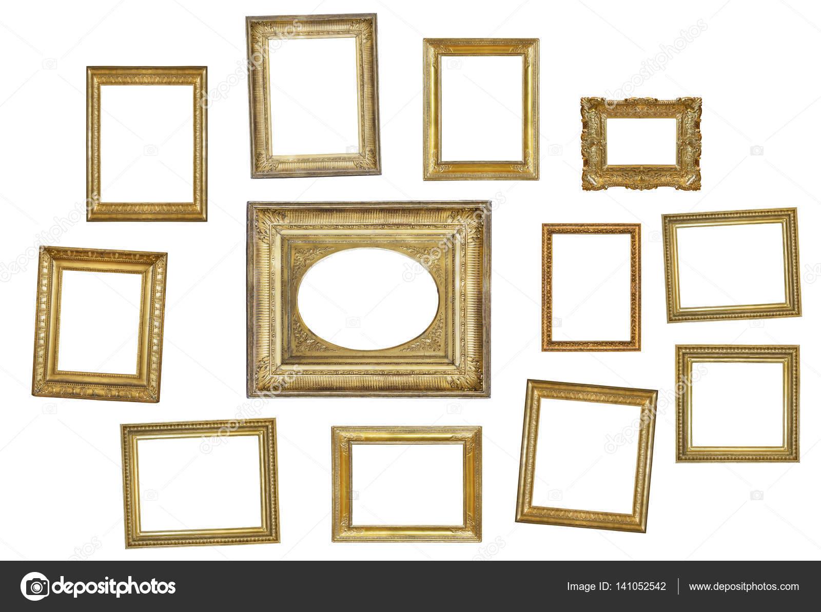 many gilded frames — Stock Photo © gurkoao #141052542