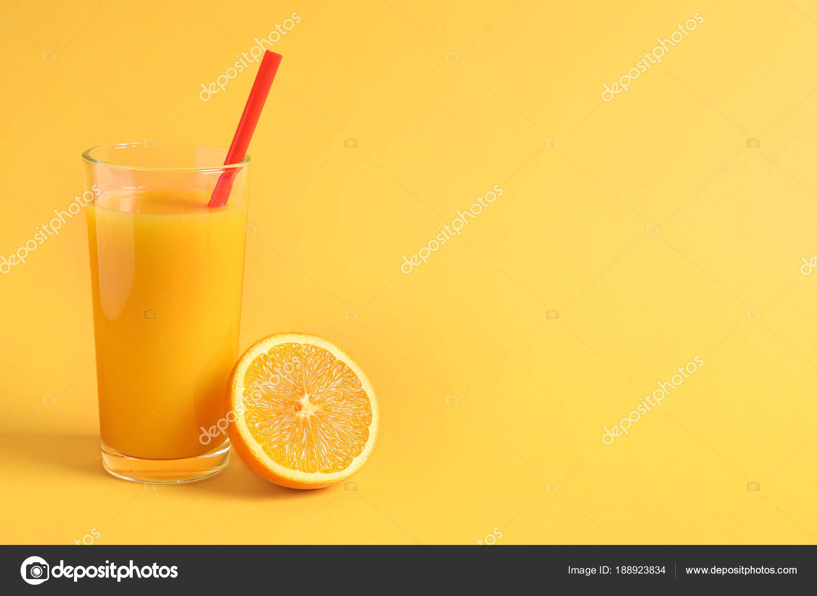 Glass Of Orange Juice With Fresh Fruit On Color Background Stock Photo C Liudmilachernetska Gmail Com 188923834,What Colour Is Orange And Blue
