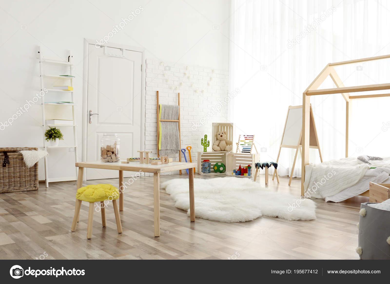 Moderne kind kamer interieur instelling idee voor huisontwerp