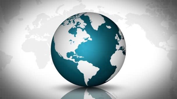 grüne und weiße Globus-Grafik