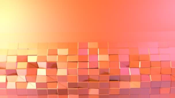 Low-Poly-3D-Oberfläche als elegantes Muster Umgebung weiche geometrische Low-Poly-Bewegungshintergrund