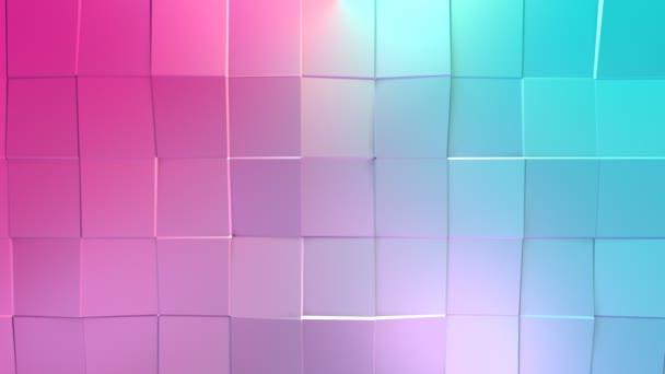 jednoduché modré růžové nízké poly 3d povrch jako krásné pozadí