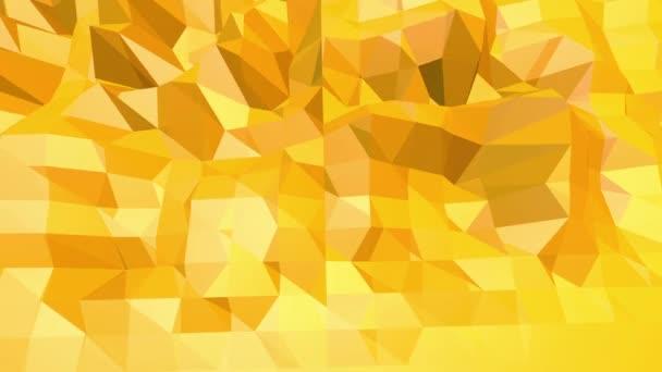 lüktető sárga alacsony poly háttér