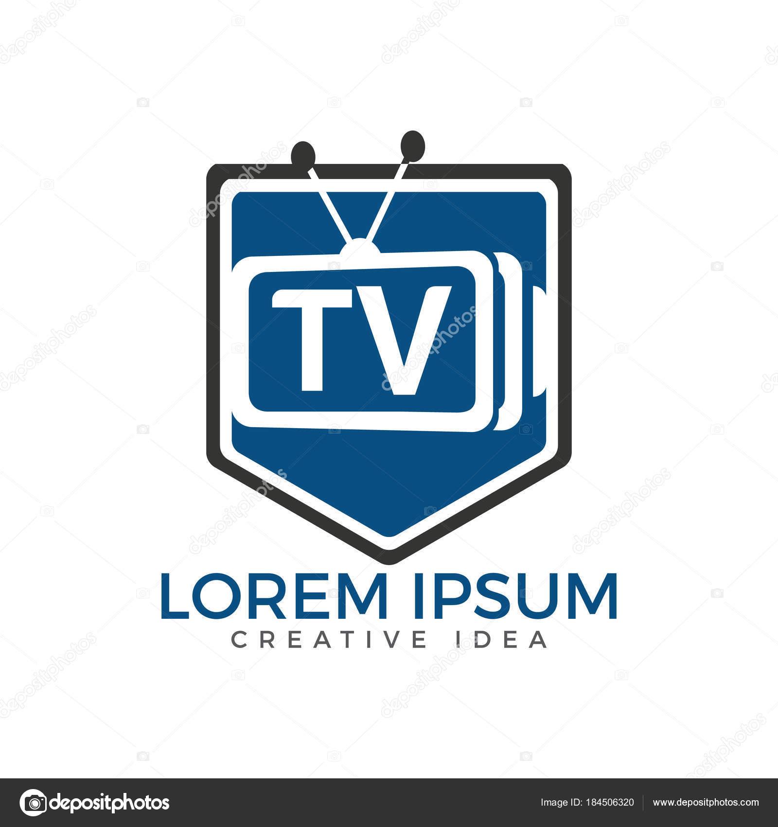 Brief Schild Logo Design Medien Logo Design Konzept Vorlage ...