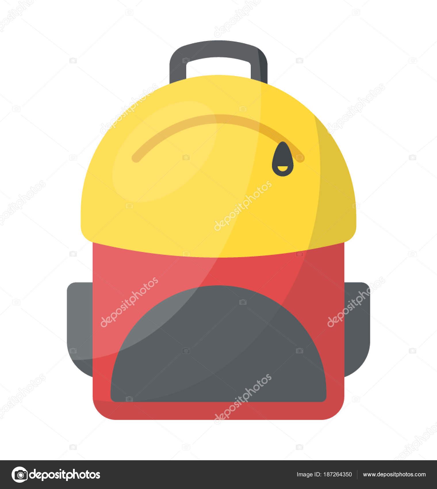 02a5ec5acc563 Plecak Powszechnie Używane Podczas Piesze Wycieczki — Wektor stockowy
