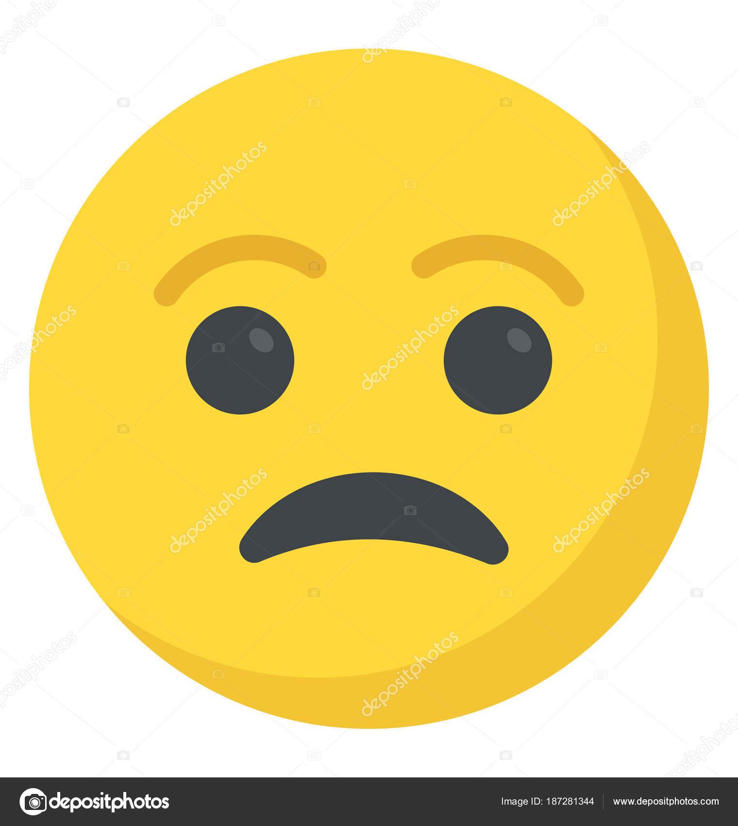 Sad smiley face depressed concept stock vector vectorspoint sad smiley face depressed concept stock vector buycottarizona Choice Image