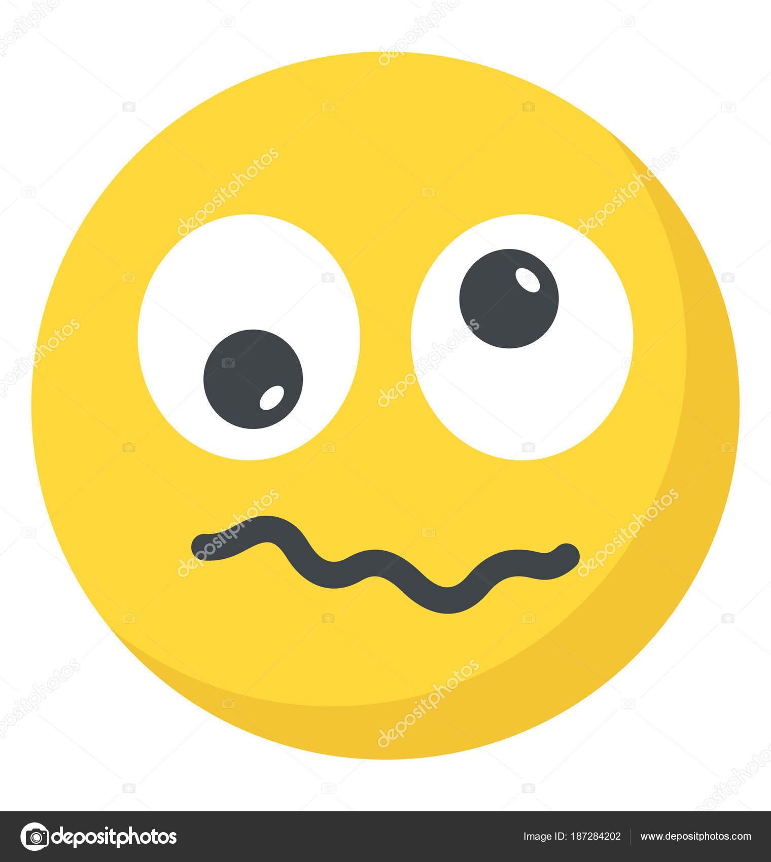 confused emoji face images
