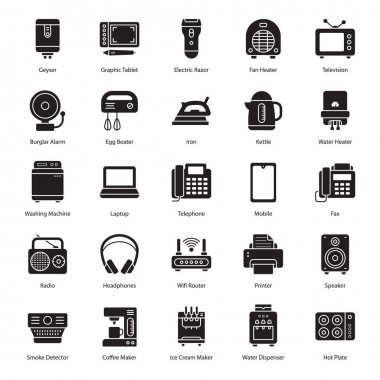 You can get electronic devices pack containing variety of gadgets that are useful in human life. You will be pleased to see that, all the vectors are totally editable. Happy Downloading! icon