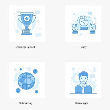 Technical human resource and hiring flat icons pack in trendy flat styles is presented. These icons are uniquely designed to portray the business conceptual services. Hold this set and use it as per project needs. icon