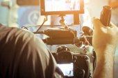 A saját videó kamera forgatás operatőr