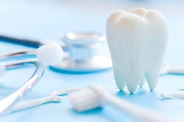 dental hygiene concept background