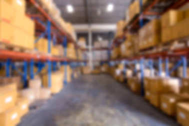 Blur image of warehouse stock vector