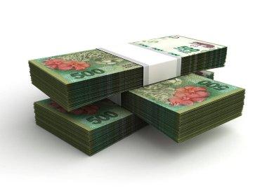 Stack of Argentina Pesos
