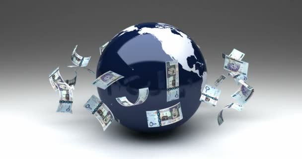 Global Business with Saudi Arabian Riyals (seamless)