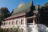 krásné tradiční starobylé architektury v Chiang Mai, Thajsko