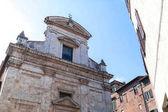 Fotografie Stará budova v historické čtvrti Sieny