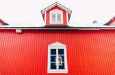červená budova