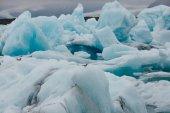 Fotografie blue icebergs