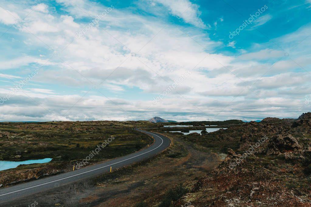 Фотообои road