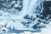 zamrzlou řeku