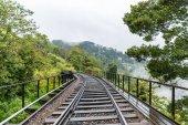 Fotografie silnice železnice