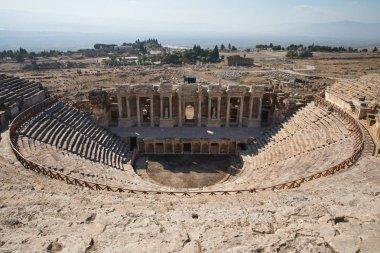 amphitheater in hierapolis
