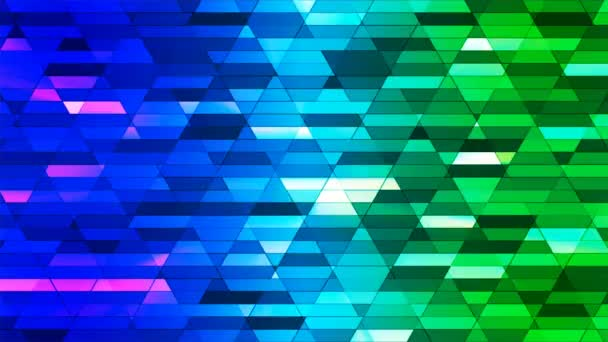 Vysílají zářící Diamond Hi-Tech malé bary, více barev, abstraktní, Loopable, 4k
