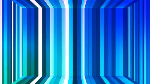 Diffusione Di Twinkling Barre Verticali Hi Tech Camera Blu