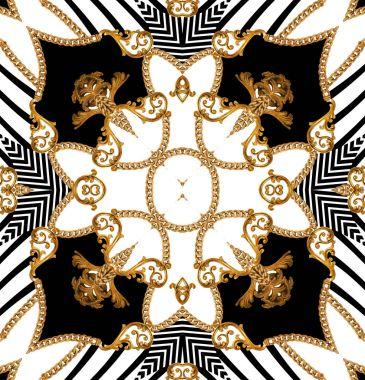 baroque geometric pattern